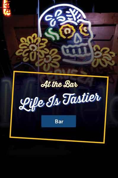 Vida Mariscos At The Bar Life Is Tastier